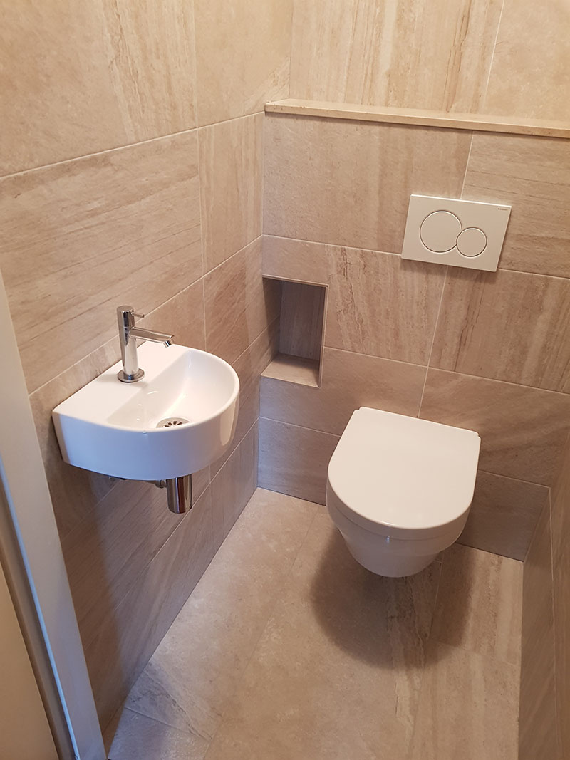 Badkamer of toilet laten verbouwen